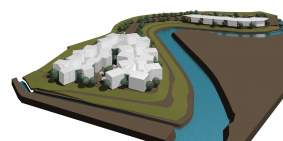 汐の宮病院計画(コンテナ建築)