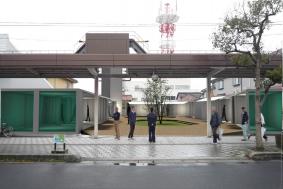 屋台村(コンテナ建築)