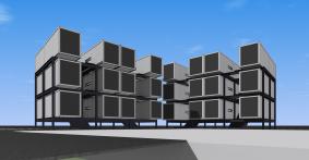 ワンルームマンション(コンテナ建築)