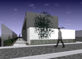 メゾネットアパート(コンテナ建築)