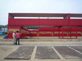 須磨海岸海の家(コンテナ建築)